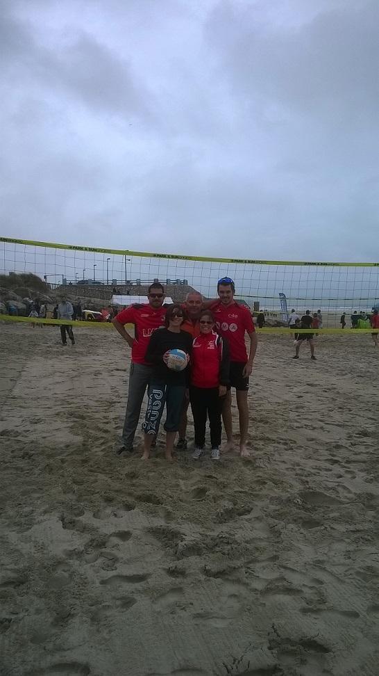 La dream team au beach de Quend Plage 2017